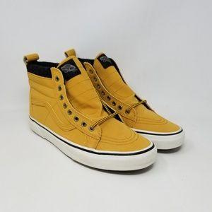 Vans Sk8-Hi MTE Honey Leather Sneakers Men's 10.5